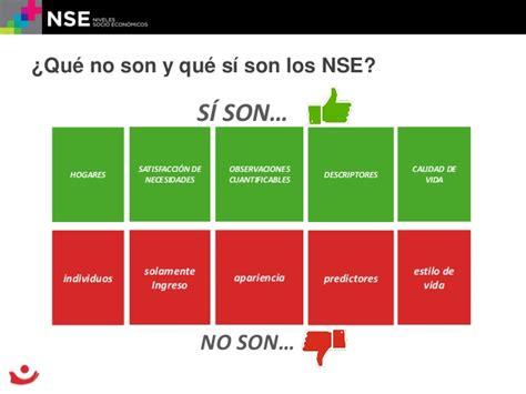 Los niveles socioeconómicos y las familias en México ...