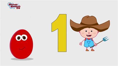 Los números en ingles del 1 al 5   YouTube