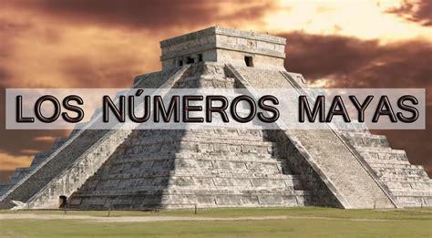 LOS NUMEROS MAYAS - YouTube
