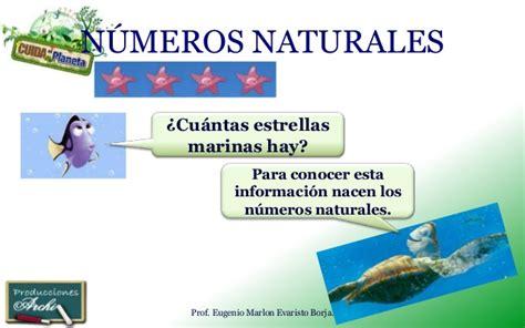Los números naturales   Material didáctico para matemáticas