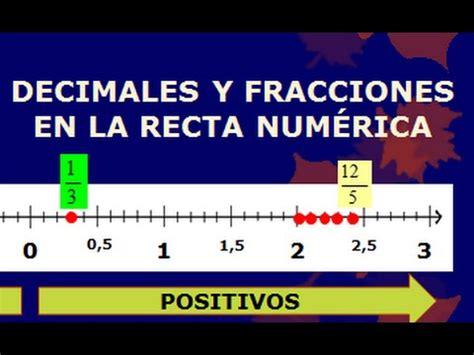 LOS NÚMEROS RACIONALES EN LA RECTA NUMÉRICA: FRACCIONES Y ...