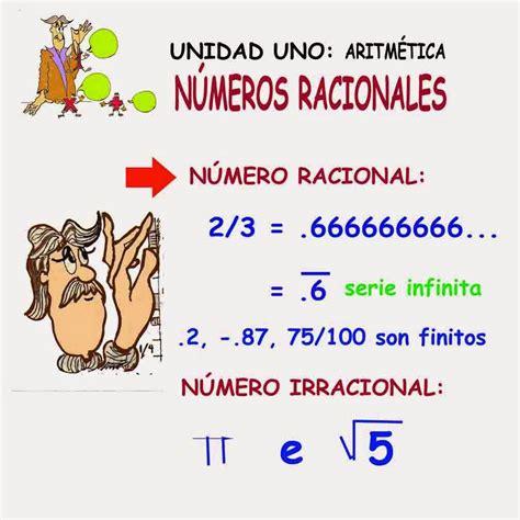 Los números racionales  Q  | Números racionales ...