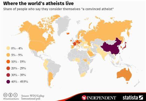 Los ocho países más ateos del mundo - Forum Libertas