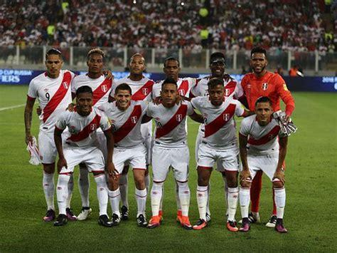 Los partidos restantes de la Selección Peruana para el ...