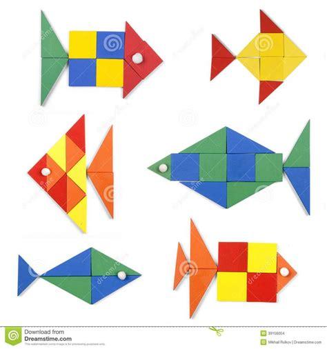 los pescados fijados de figuras geométricas 39156004.jpg ...