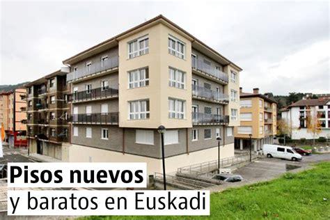 Los pisos nuevos más baratos del País Vasco — idealista/news