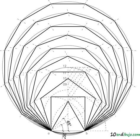 Los polígonos regulares dado el lado: siempre pueden caer ...