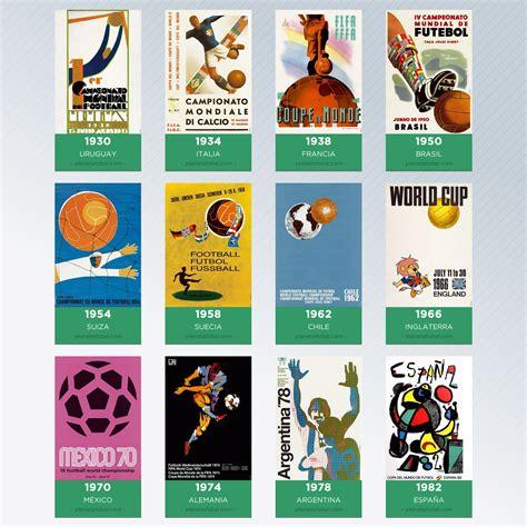 Los posters de cada Copa del Mundo de la FIFA | Planeta Fobal