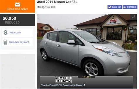 Los precios de los coches eléctricos de segunda mano se ...