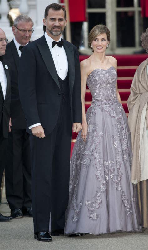 Los Príncipes Felipe y Letizia en la cena pre-boda real de ...