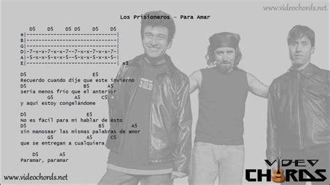 Los Prisioneros   Para Amar  Acordes para Guitarra en ...