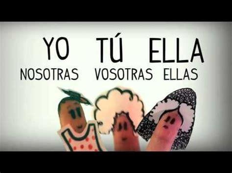 Los pronombres personales en español, gramática española ...