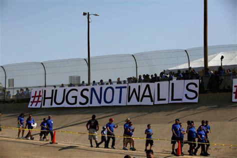 Los prototipos del muro entre Estados Unidos y México ...