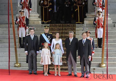 Los Reyes de España, el Presidente de Gobierno y los ...