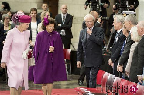 Los Reyes de Suecia y Benedicta de Dinamarca en el 75 ...