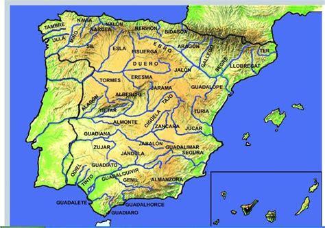 Los ríos de España: Mapa interactivo