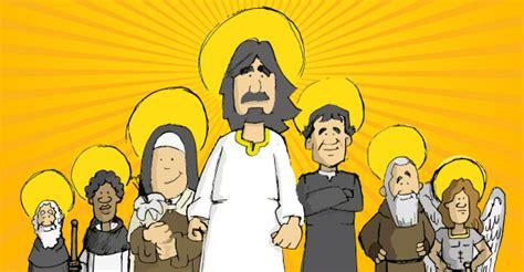 Los santos para los niños. 9 santos superhéroes que no ...