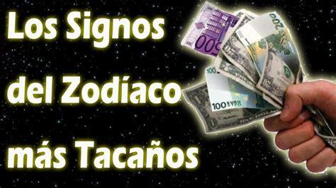 Los Signos del Zodiaco más Tacaños - YouTube
