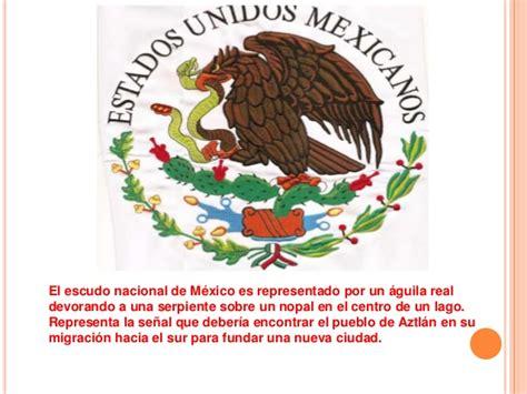 LOS SÍMBOLOS PATRIOS MEXICANOS