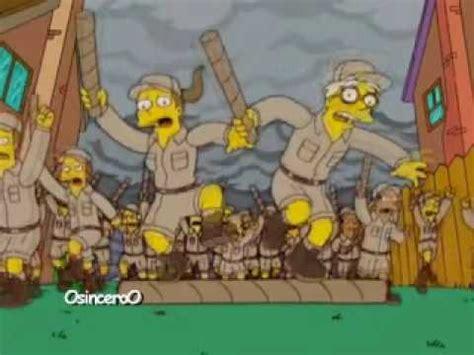 Los Simpsons - El Señor de los Anillos (parodia) - YouTube