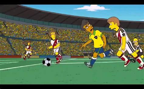 Los Simpsons Mundial 2014, Brasil Vs Alemania - YouTube