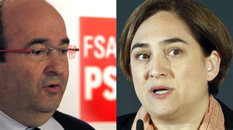 Los socialistas catalanes quieren unirse a Ada Colau en ...