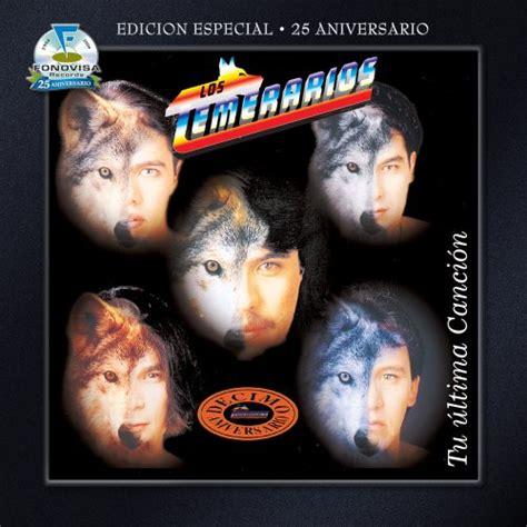 LOS TEMERARIOS CD Covers