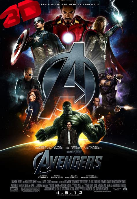Los Vengadores  The Avengers  2012 3D full HD ver online ...