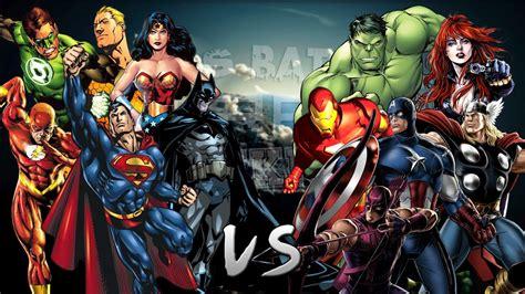 Los Vengadores vs La Liga de la Justicia. Épica Batalla ...