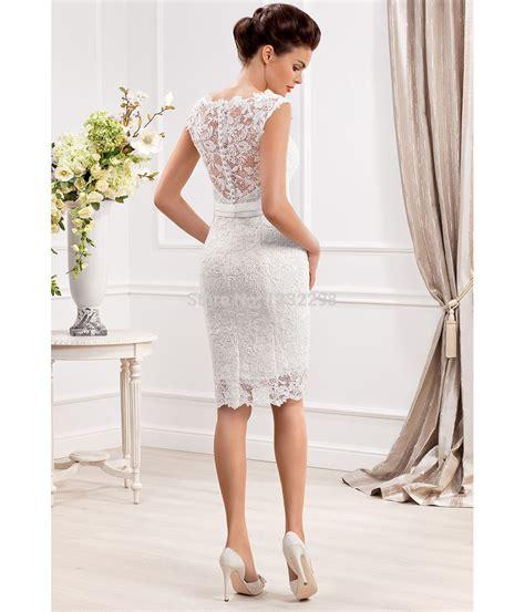 Los vestidos de novia cortos para 2018   Tendenzias.com