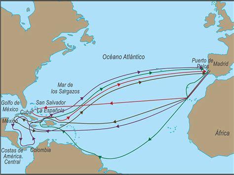 Los viajes de Cristóbal Colón El punto