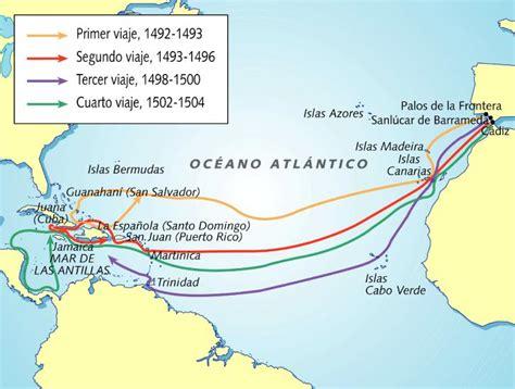 Los viajes de Cristóbal Colon   Resumen