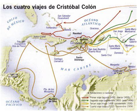 LOS VIAJES DE CRISTÓBAL COLÓN: RUTAS DE CRISTÓBAL COLÓN