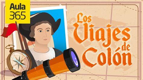 Los Viajes de Cristobal Colón | Videos Educativos para ...