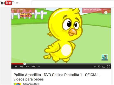 Los vídeos más vistos en Youtube son para niños