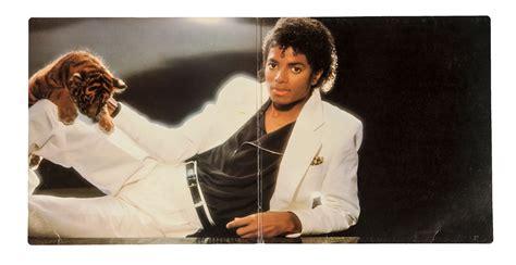 Lot Detail - Michael Jackson Signed Thriller Album Cover
