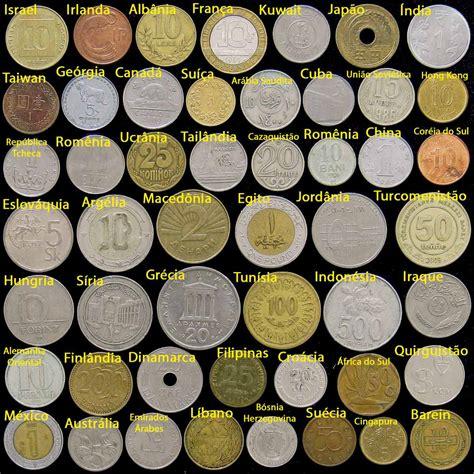 Lote 50 Moedas (todos Países Diferentes) - R$ 118,00 em ...