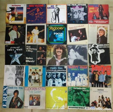 lote de 50 singles grupos extranjeros años 70; - Comprar ...