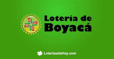 Lotería de Boyacá sorteo 4193 del 9 de Diciembre de 2017 ...