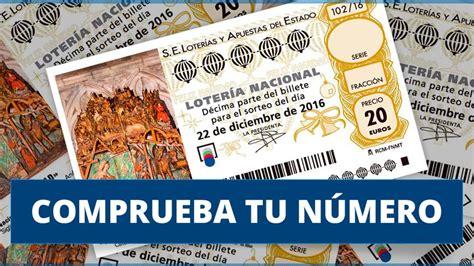 Lotería de Navidad 2016: Comprobar décimos y números premiados