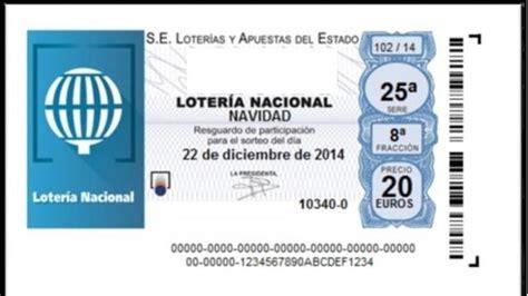 Lotería de Navidad - La Lotería por terminal se llena de ...