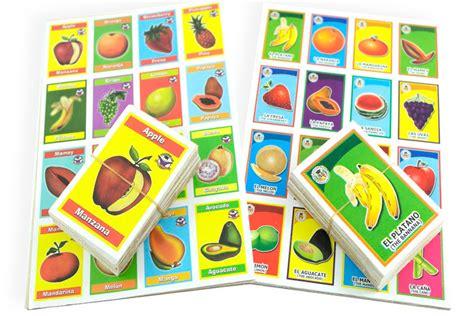Lotería Didáctica Las Frutas - Wiwi Loterías de Mayoreo - WIWI