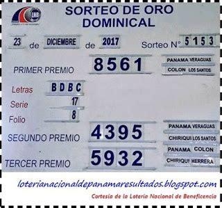 Loteria Nacional de Panama Resultados: Resultados Sorteo ...