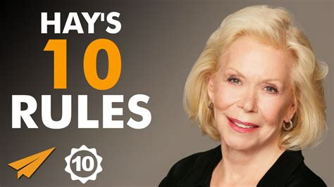 Louise Hay's Top 10 Rules For Success (@LouiseHay) - YouTube