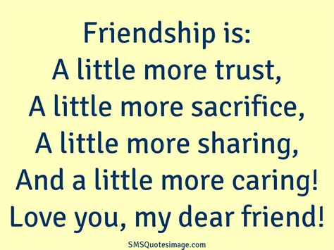 Love Friendship Quotes | QUOTES OF THE DAY