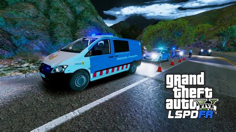 LSPDFR | Día 228 | Mossos d esquadra   Control de trafico ...