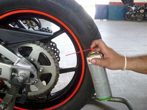 Lubrificação da corrente da moto   Motonline
