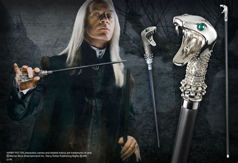 Lucius Malfoy Walking Stick at noblecollection.com