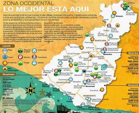 Lugares turísticos de la zona occidental de El Salvador ...