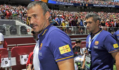 Luis Enrique unconcerned with Chelsea and Man Utd results ...